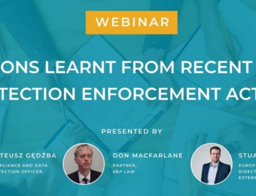 SBP Law contributes to GDPR Webinar