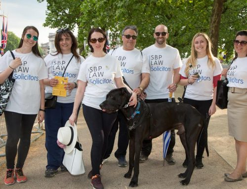 The Annual 10k London Legal Walk for charity
